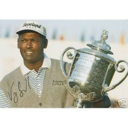 Golf Vijay Singh genuine signed original authentic autographs photo