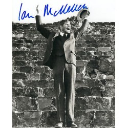 Ian McKellen signed genuine authentic autographs photo