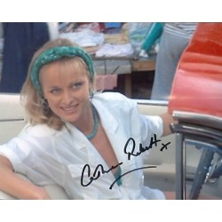 James Bond Catherine Rabbett Living Daylights authentic signed autographs photo