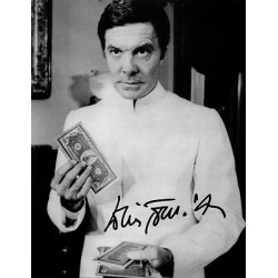 James Bond Louis Jourdan genuine signed authentic autograph photo