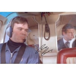 James Bond Your Eyes Only George Sweeney authentic signed autographs photo