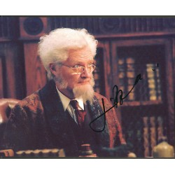 Jim Broadbent Harry Potter signed authentic autographs photo original