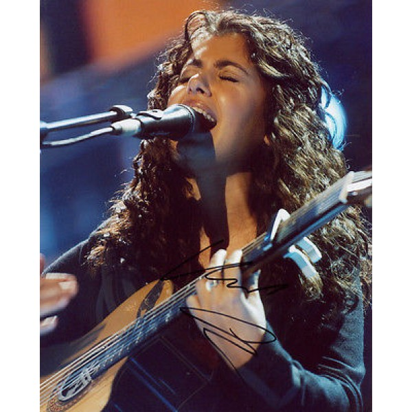 Katie Mellua music genuine signed authentic autograph photo