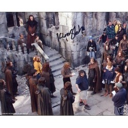 Lord The Rings Wood Kiran Shah LOTR authentic signed autograph photo
