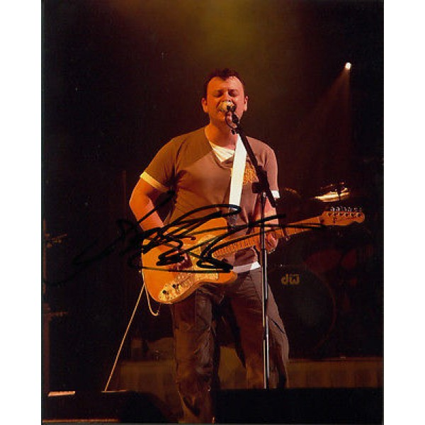 Manic Street Preachers James Dean Bradfield signed authentic autograph photo
