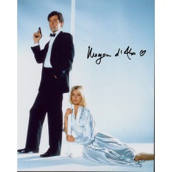 Maryam D'abo James Bond genuine signed authentic autograph photo