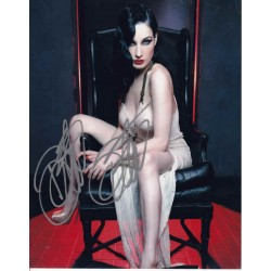 Dita Von Teese sexy genuine authentic signed autograph photo.