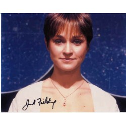 Doctor Who Janet Fielding authentic genuine signed autograph photo