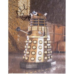 Doctor Who Nicholas Briggs Dalek authentic genuine signed autograph photo