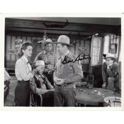 Gene Autry singing cowboy genuine authentic signed autograph photo.