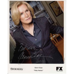 Glenn Close Damages authentic genuine signed autograph photo