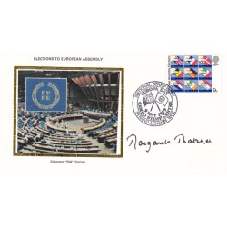 Margaret Thatcher Prime Minister authentic signed genuine autograph FDC