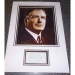 Anthony Eden PM genuine authentic signed autograph photo display.