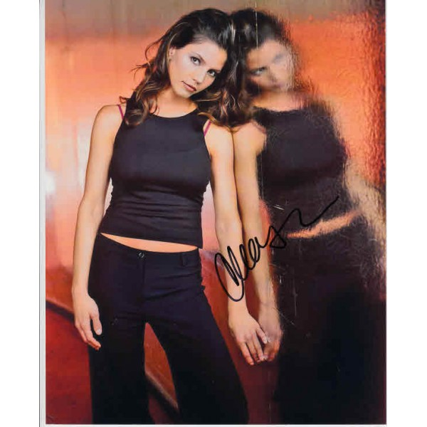 Charisma Carpenter Angel genuine authentic autograph signed photo.