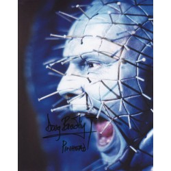 Doug Bradley Pinhead genuine authentic autograph signed photo