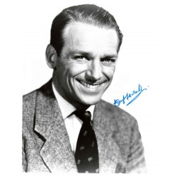 Douglas Fairbanks Jnr genuine authentic autograph signed photo.