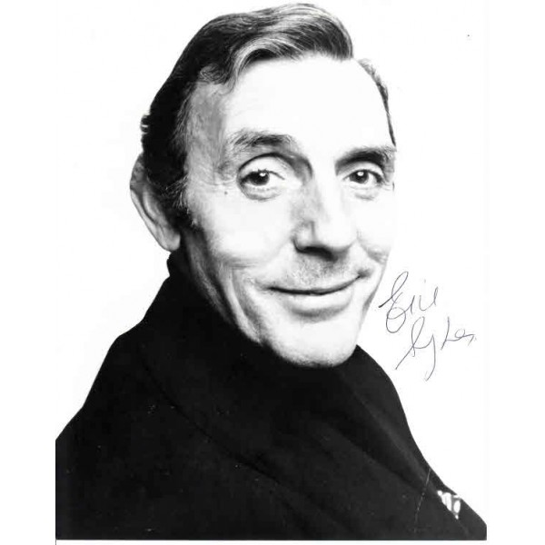 Eric Sykes Comedy legend genuine authentic autograph signed photo.