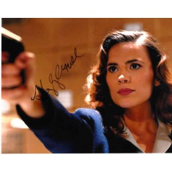 Hayley Atwell Captain America genuine authentic autograph signed photo.