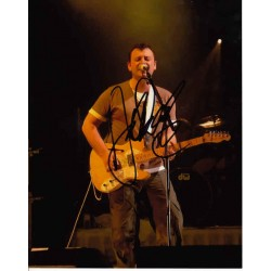 James Dean Bradfield Manic Street Preachers genuine authentic autograph signed photo.
