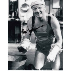 John Inman Are You Being Served genuine authentic autograph signed photo.