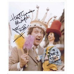Ken Dodd comedy legend genuine authentic autograph signed image.