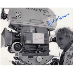 Michael Winner director genuine authentic autograph signed photo.