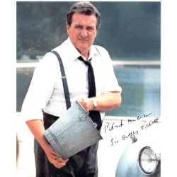 Patrick Macnee James Bond authentic genuine autograph signed photo.