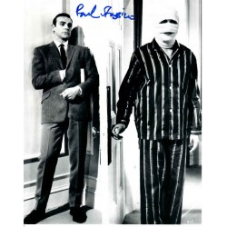 Paul Stassino James Bond authentic genuine autograph signed photo.