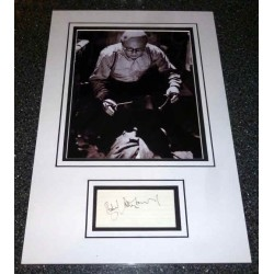 Richard Attenborough genuine authentic signed autograph display 2.