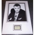 Rod Steiger genuine authentic signed autograph display.