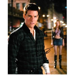 Tom Cruise Jack Reacher genuine authentic autograph signed photo 4.