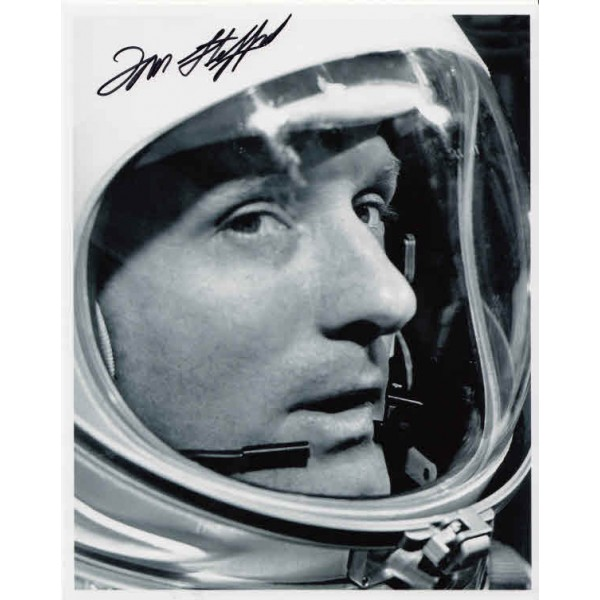 Tom Stafford space Gemini Apollo genuine authentic autograph signed photo.