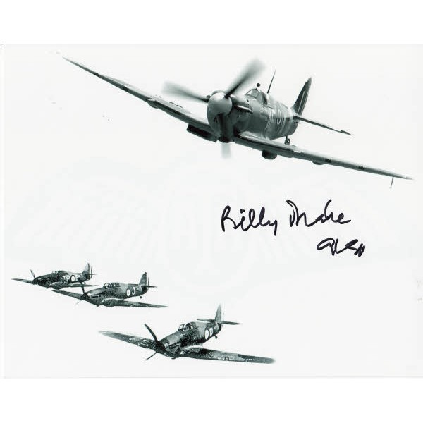 WW2 BOB Billy Drake DSO DFC signed authentic autograph photo 2
