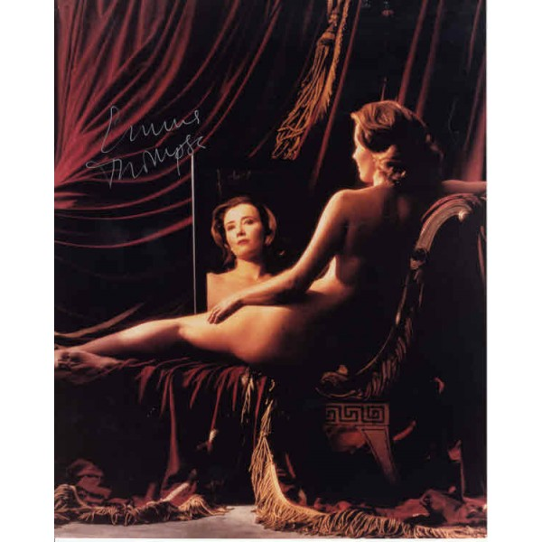 Emma Thompson nude! genuine signed authentic autograph photo