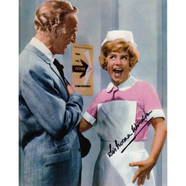Norman Wisdom genuine signed authentic autograph colour photo