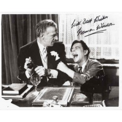 Norman Wisdom genuine signed authentic signature photo