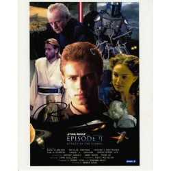 Star Wars Rick McCallum Temuera Morrison genuine signed authentic signature photo