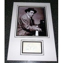 Music Duke Ellington Jazz genuine signed authentic autograph image