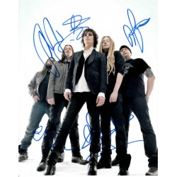 HIM H.I.M Ville Valo music genuine signed authentic signature photo