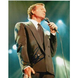 Julio Iglesias genuine signed autograph photo