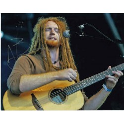 Newton Faulkner MUSIC authentic genuine signed autograph photo