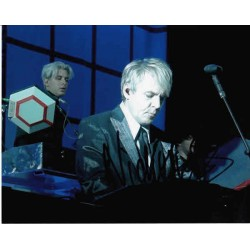 Nick Rhodes Duran Duran genuine authentic signed autograph photo.