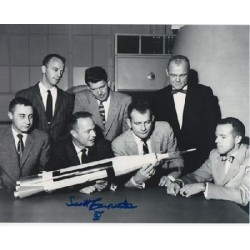 Mercury Scott Carpenter signed autograph photo 2