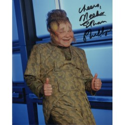 Star Trek Ethan Phillips genuine signed authentic autograph photo