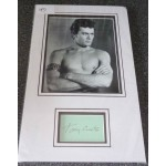 Tony Curtis genuine authentic signed autograph photo display
