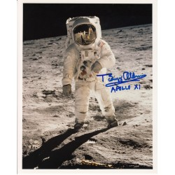 Apollo 11 Buzz Aldrin authentic signed autograph photo 4