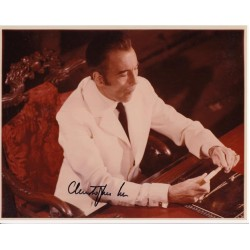 Christopher Lee James Bond 007 authentic signed autograph photo