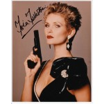 Fiona Fullerton James Bond signed authentic autograph photo