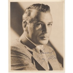 Gary Cooper authentic signed autograph photo