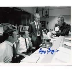 Gerry Griffin genuine signed authentic signature photo 2 Apollo space NASA